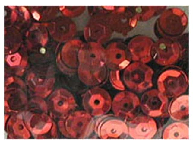 PA Essentials 8 mm Cupped Sequins 200 pc. Red