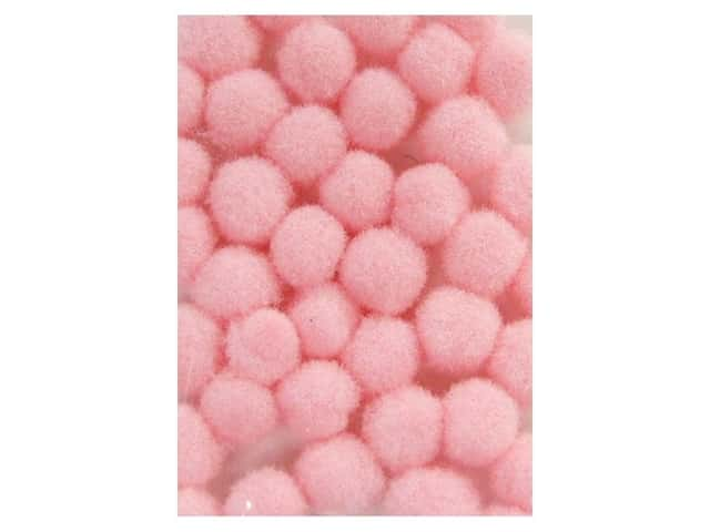 Pom Pom by Accent Design 3/16 in. Pink 40pc.