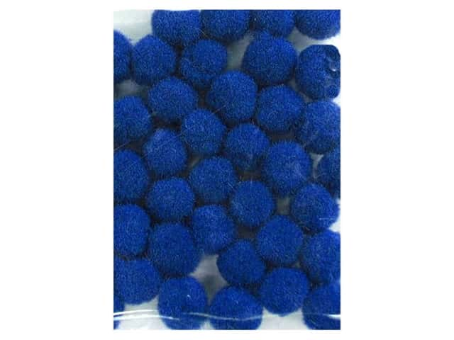Pom Pom by Accent Design 3/16 in. Royal Blue 40pc.