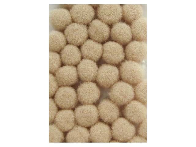 Pom Pom by Accent Design 3/16 in. Beige 40pc.