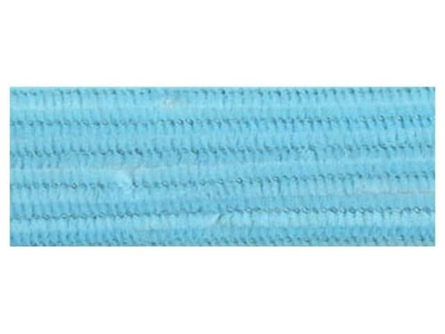 PA Essentials Chenille Stems 6 mm x 12 in. Light Blue 25 pc.