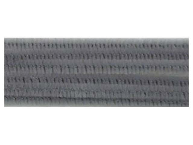 Chenille Stems by Accents Design 6 mm x 12 in. Grey 25 pc. (3 packages)