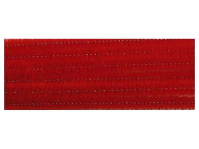 Chenille Stems by Accents Design 6 mm x 12 in. Red 25 pc. (3 packages)