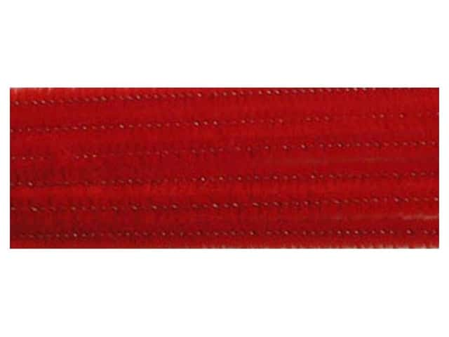 PA Essentials Chenille Stems 6 mm x 12 in. Red 100 pc.