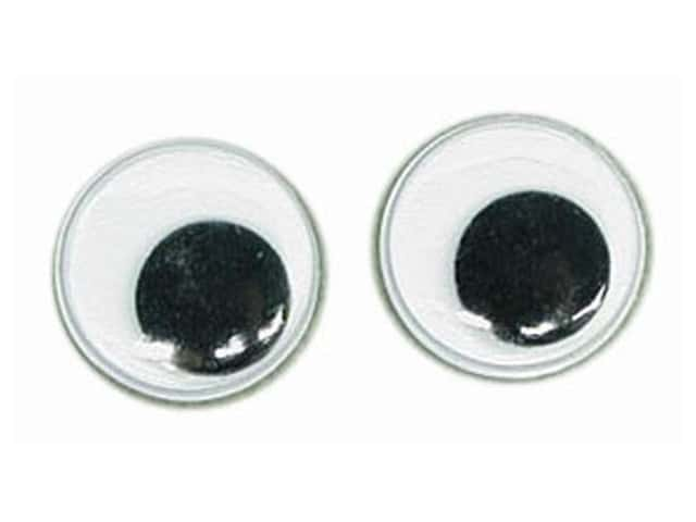 PA Essentials Googly Eyes 3/16 in. Round 32 pc. Black