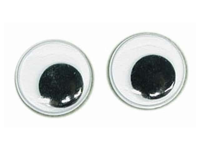 Googly Wiggle Eyes by Accent Design 5/8 in. Round 8 pc. Black