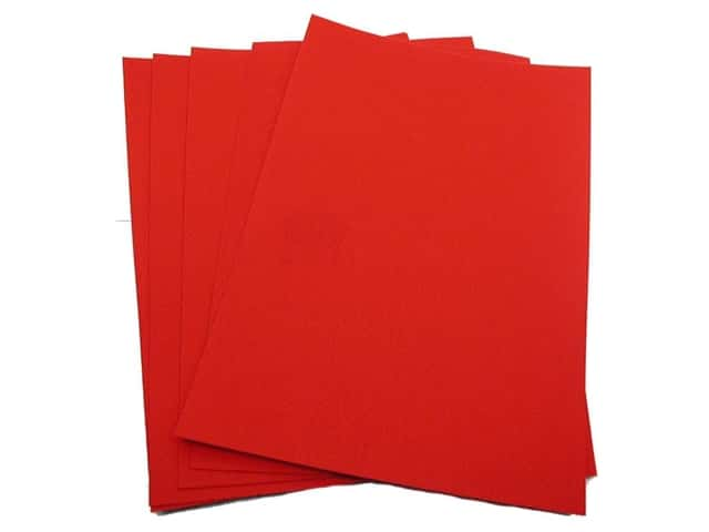 CPE EZ Felt 12 x 18 in. Red