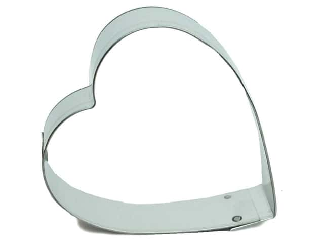 Fox Run Cookie Cutter 3 in. Heart
