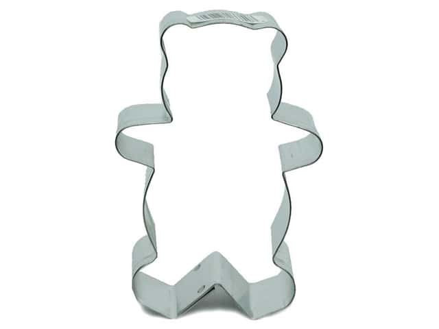 Fox Run Cookie Cutter 3 in. Teddy Bear
