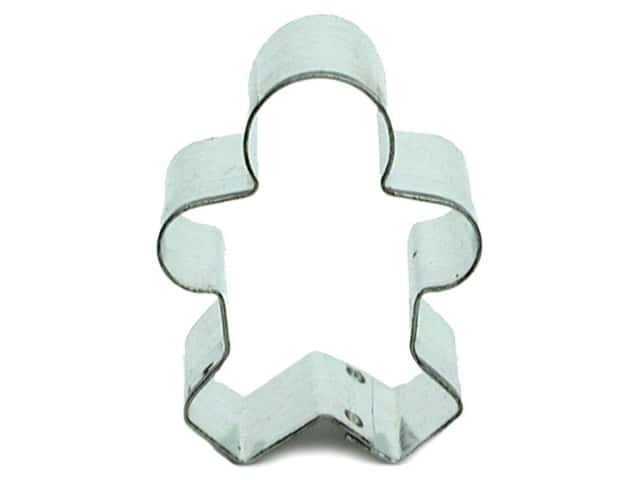Fox Run Craftsmen Cookie Cutter 1 1/2 in. Mini Gingerbread Boy