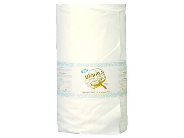 The Warm Company Warm & White Cotton Batting 90 in. x 40 yd. (40 yards)