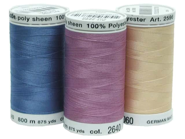 Mettler PolySheen Embroidery Thread Size 40 875yd