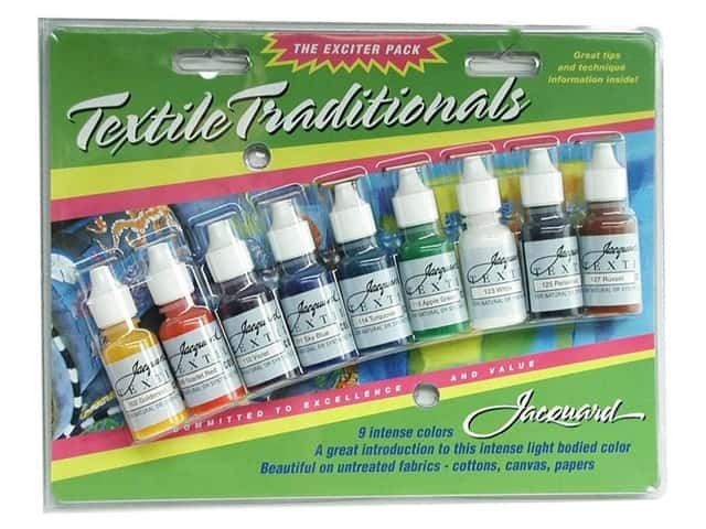 Jacquard Paint Exciter Pack Textile Traditionals