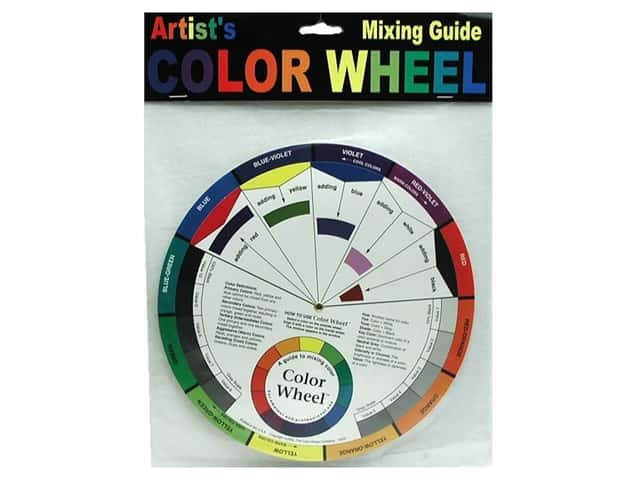 The Color Wheel Company Artist's Mixing Guide Color Wheel 9 1/4 in.