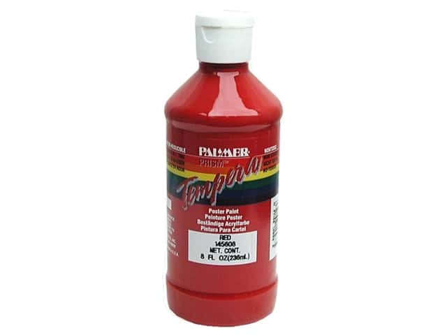 Palmer Tempera Poster Paint 8 oz. Red
