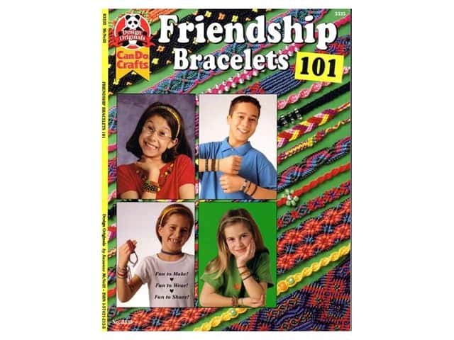 Design Originals Friendship Bracelets 101 Book