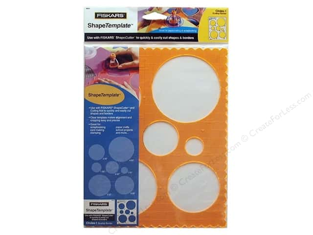 Fiskars ShapeTemplate Circles #1
