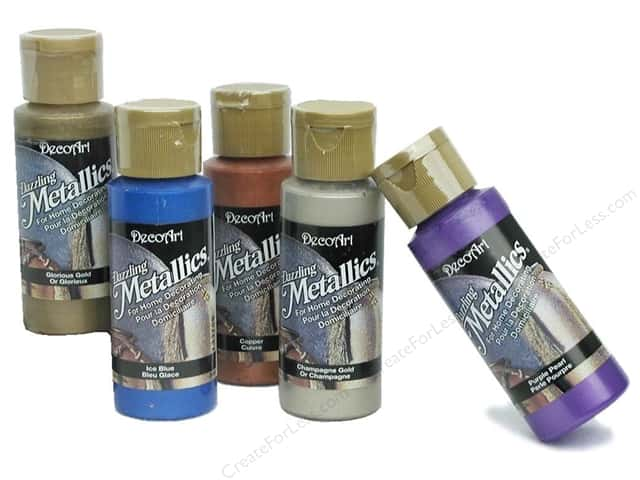 DecoArt Dazzling Metallics Paint 2oz