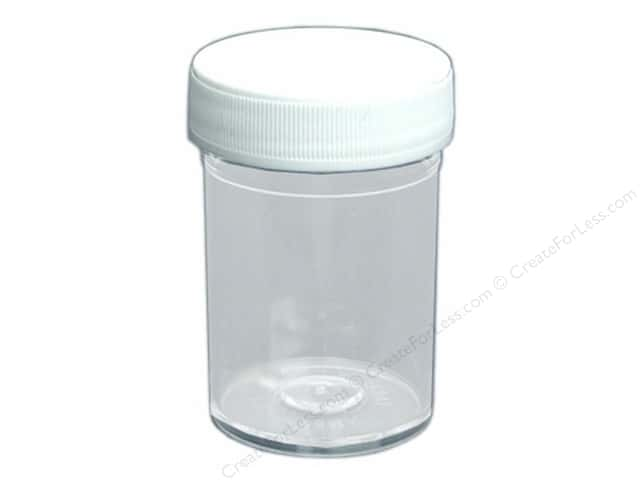 Stampendous Empty Jar & Cap 1oz Bulk (100 pieces)