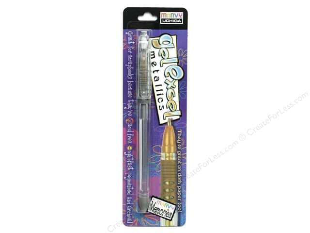 Uchida Gel Excel Pen Carded Metallic Silver