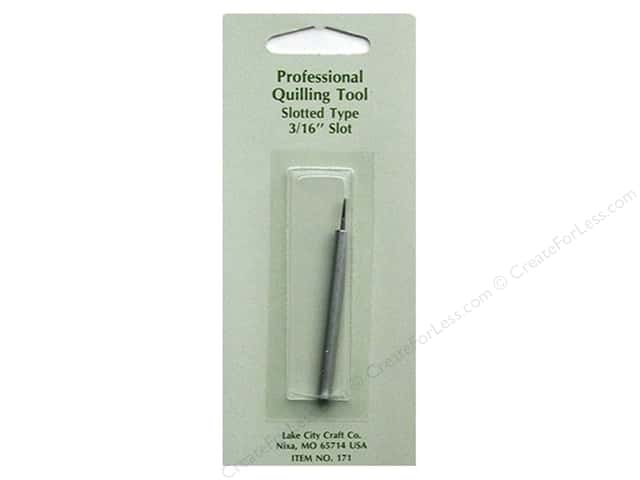 Lake City Crafts Quilling Tool Slotted Tip