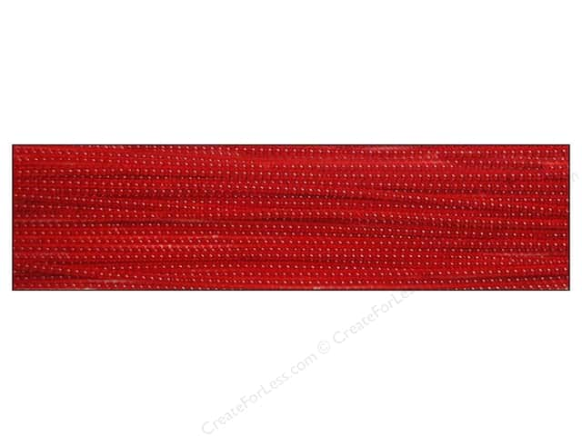 Chenille Stems by Accents Design 3 mm x 12 in. Red 25 pc.