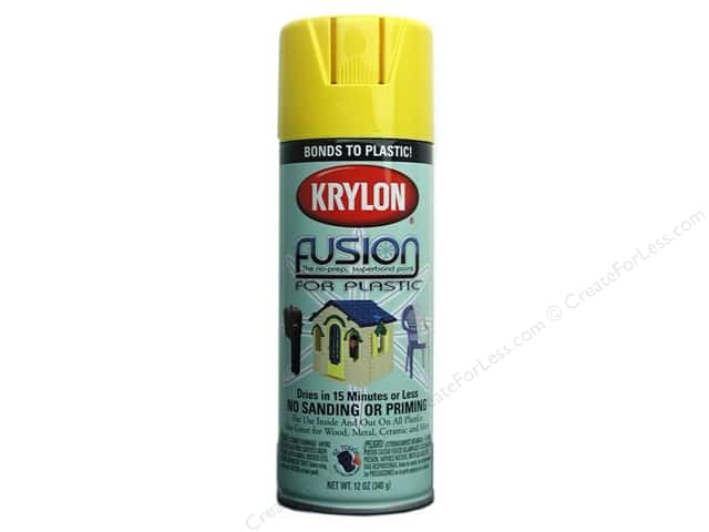 Krylon Fusion for Plastic Paint 12 oz. Sunbeam