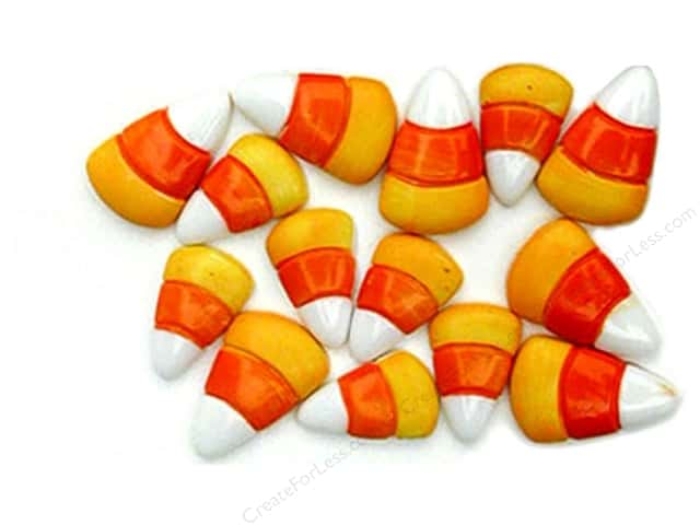 Jesse James Dress It Up Embellishments Halloween Collection Candy Corn