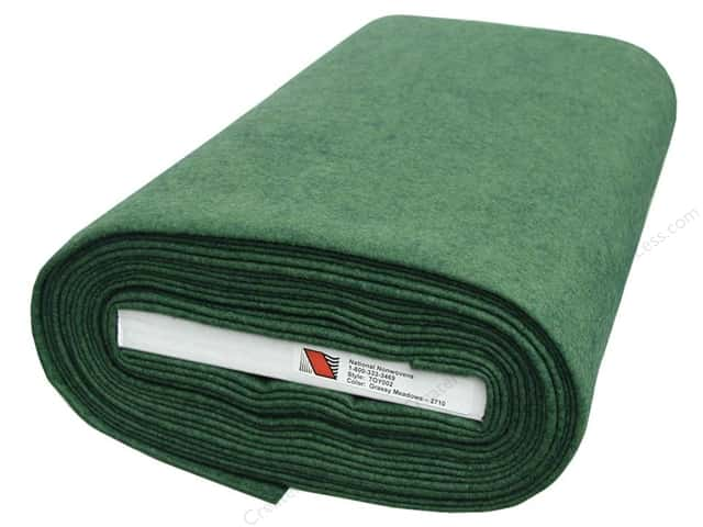 National Nonwovens 35% Wool Felt 36 in. x 10 yd. Grassy Meadows (10 yards)