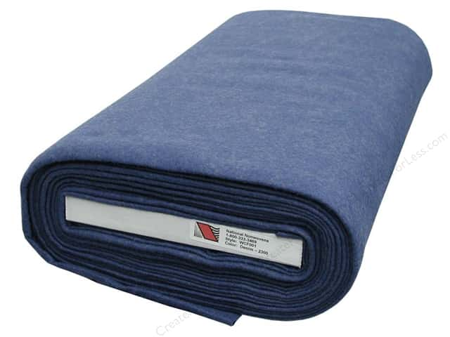 National Nonwovens WoolFelt  36 in. x 10 yd. Bolt Denim (10 yards)