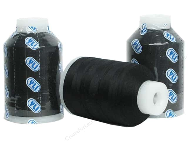 YLI Soft Touch Cotton Thread 1000 yd. Black