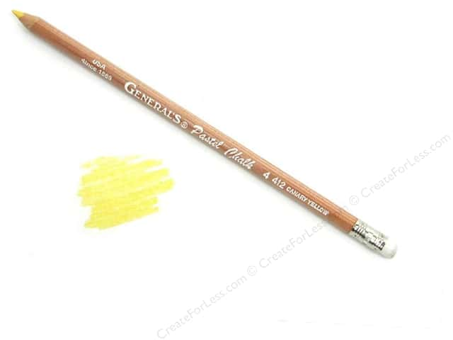 General's MultiPastel Pastel Chalk Pencil Canary Yellow