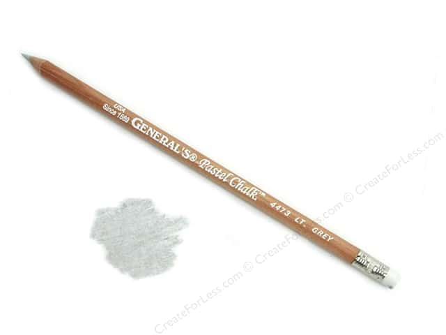 General's Pastel Chalk Pencil Bulk Light Grey