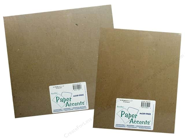 Paper Accents Chipboard Sheets
