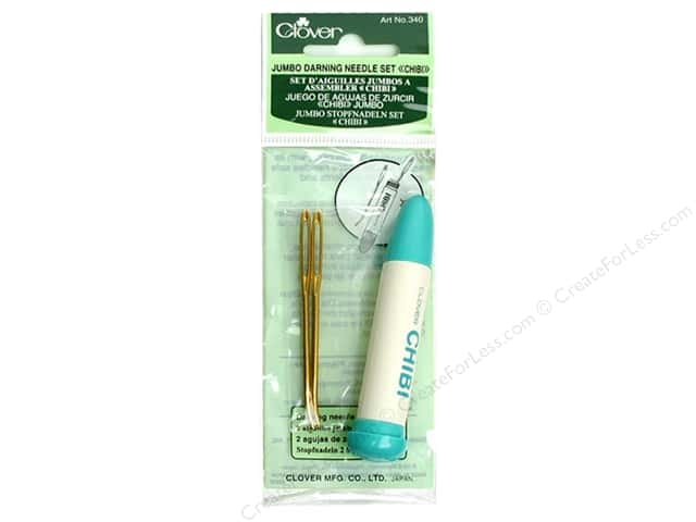Clover Chibi Darning Needles Set Jumbo 2 pc.
