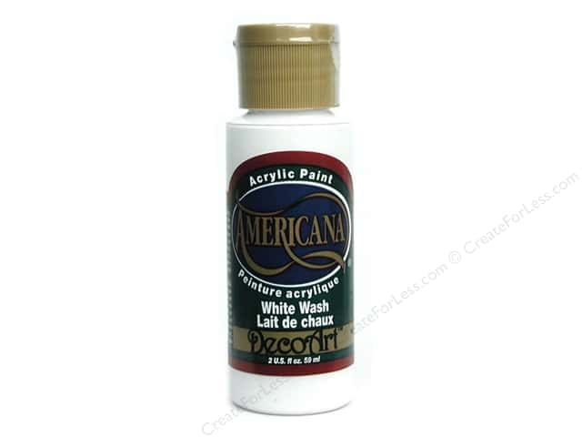 DecoArt Americana Acrylic Paint 2 oz. #02 White Wash