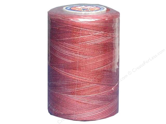 Coats & Clark Star Variegated Mercerized Cotton Quilting Thread 1200 yd. #823 Bowl Of Cherries