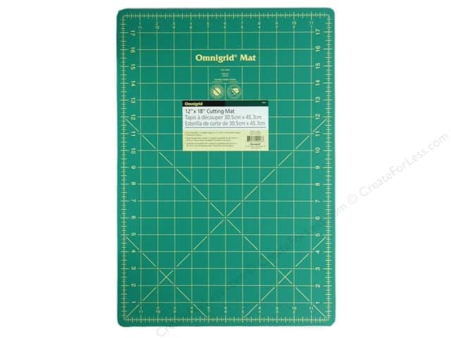 Omnigrid Cutting Mat 12 x 18 in. with 1 in. Grid