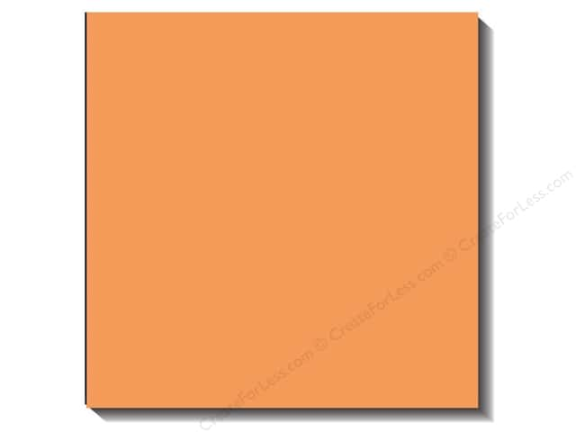 Bazzill 12 x 12 in. Cardstock Canvas Apricot (25 sheets)