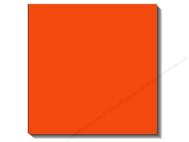 Bazzill 12 x 12 in. Cardstock Canvas Bazzill Orange (25 sheets)