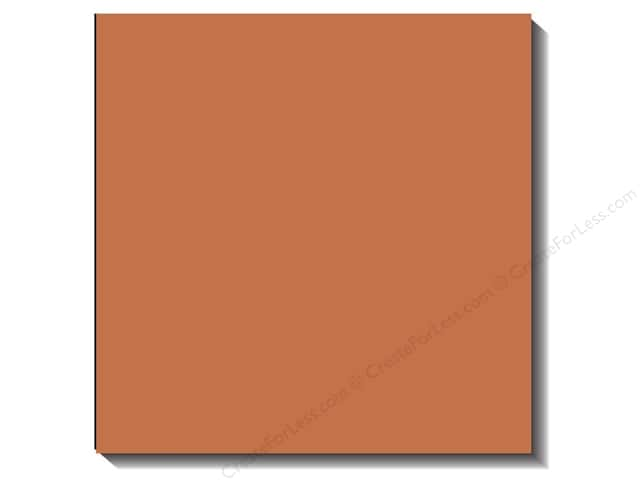 Bazzill 12 x 12 in. Cardstock Canvas Yam (25 sheets)
