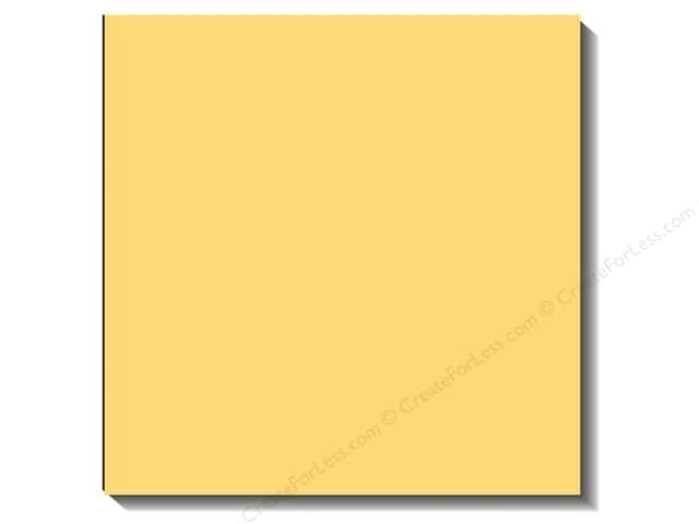 Bazzill 12 x 12 in. Cardstock Canvas Lemonade (25 sheets)