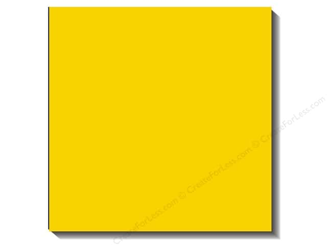 Bazzill 12 x 12 in. Cardstock Canvas Bazzill Yellow (25 sheets)