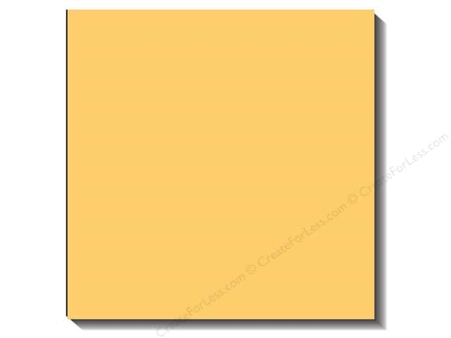 Bazzill 12 x 12 in. Cardstock Canvas Sunbeam (25 sheets)