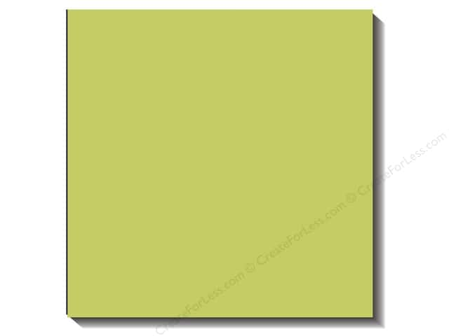 Bazzill 12 x 12 in. Cardstock Canvas Limeade (25 sheets)