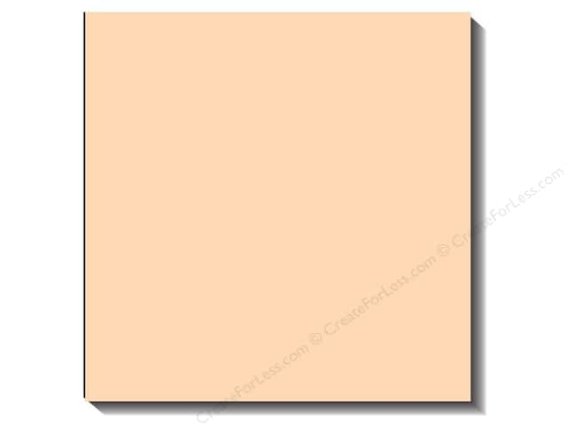 Bazzill 12 x 12 in. Cardstock Canvas Vanilla (25 sheets)