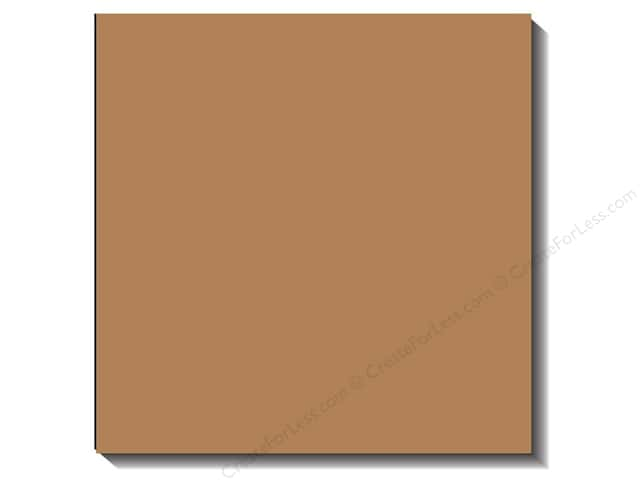 Bazzill 12 x 12 in. Cardstock Canvas Fawn (25 sheets)