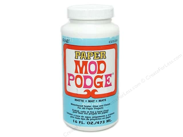 Plaid Mod Podge Paper 16 oz. Matte