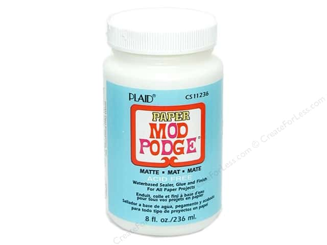 Plaid Mod Podge Paper 8 oz. Matte