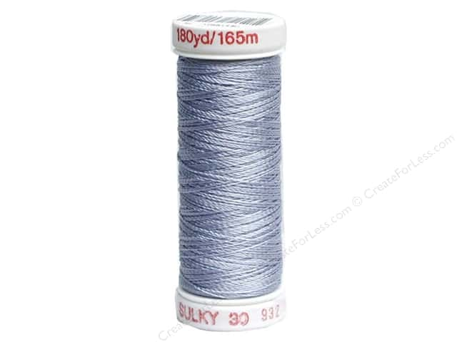Sulky Rayon Thread 30 wt. 180 yd. #1165 Light Sky Blue